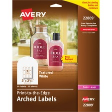 Arched Labels - Sur