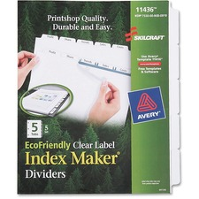 5-tab Index Maker D