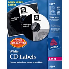 CD Labels,  Matte,