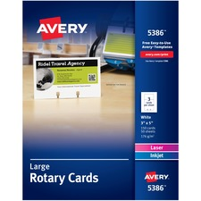 Large Rotary Cards,